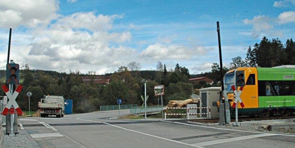 Bahnübergang Grandmühle